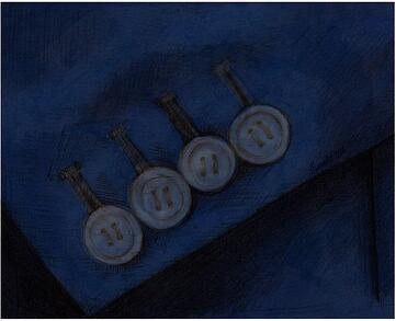Kissing Buttons - 2 - NAVY - Martha Escobar copy 2-1